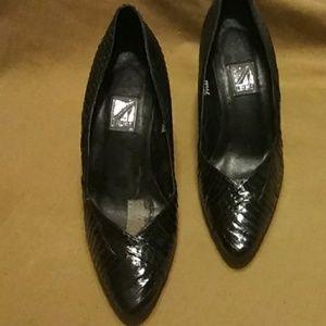 J.Renee' snake skin heels